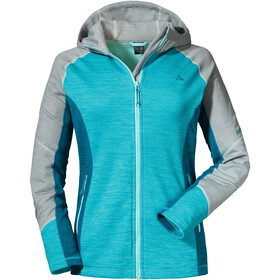 Schöffel Trentino1 Fleece Hoody Damen angel blue